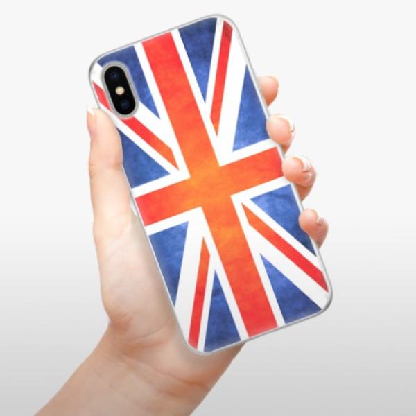Silikonové pouzdro iSaprio - UK Flag - iPhone X