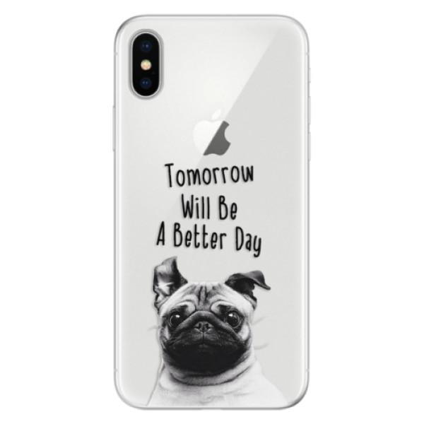 Silikonové pouzdro iSaprio - Better Day 01 - iPhone X