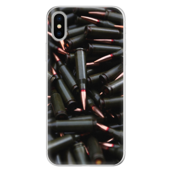 Silikonové pouzdro iSaprio - Black Bullet - iPhone X