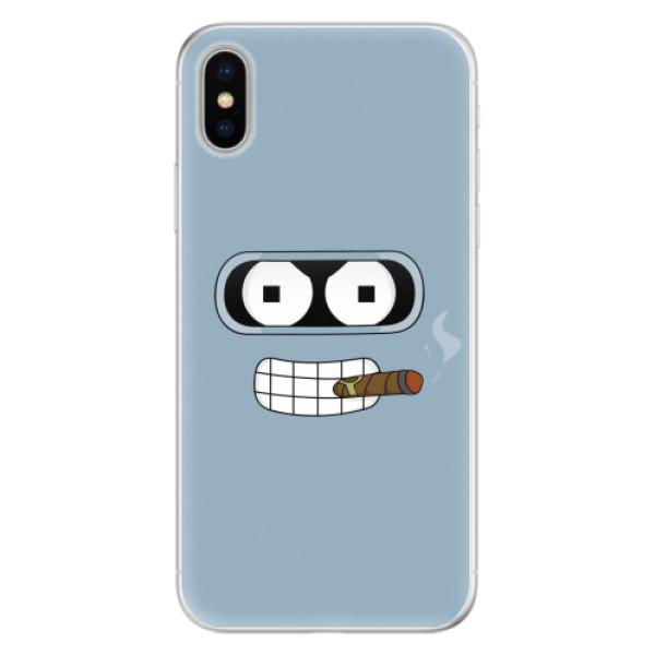 Silikonové pouzdro iSaprio - Bender - iPhone X