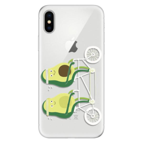 Silikonové pouzdro iSaprio - Avocado - iPhone X