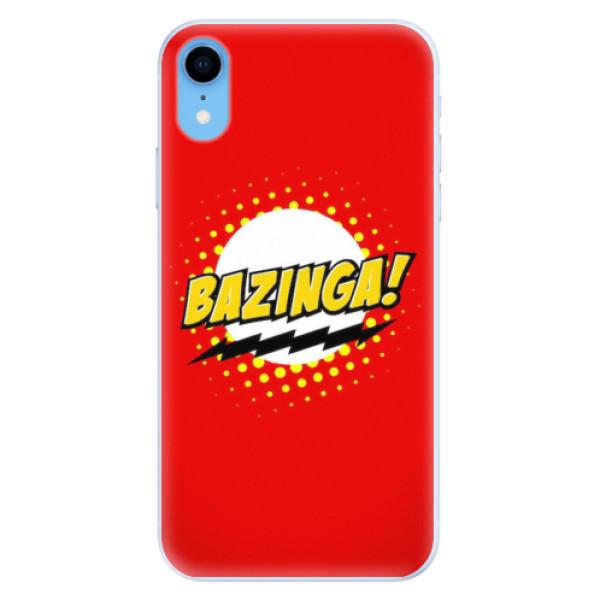 Silikonové pouzdro iSaprio - Bazinga 01 - iPhone XR