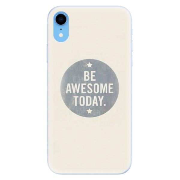 Silikonové pouzdro iSaprio - Awesome 02 - iPhone XR