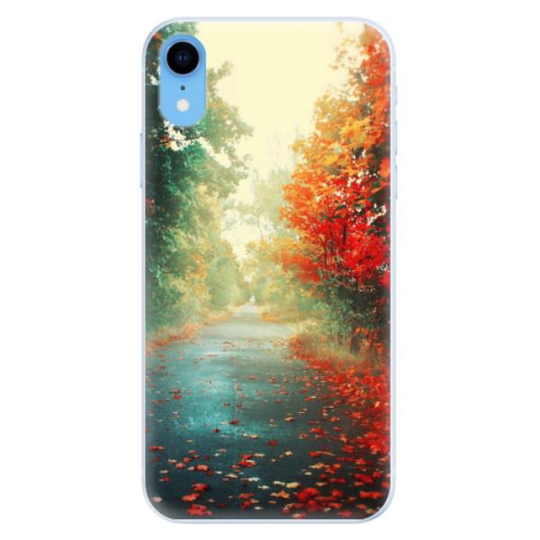 Silikonové pouzdro iSaprio - Autumn 03 - iPhone XR