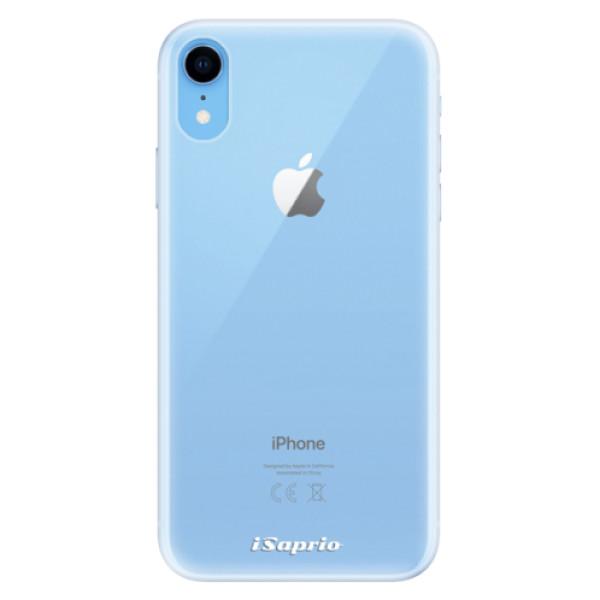 Silikonové pouzdro iSaprio - 4Pure - mléčný bez potisku - iPhone XR