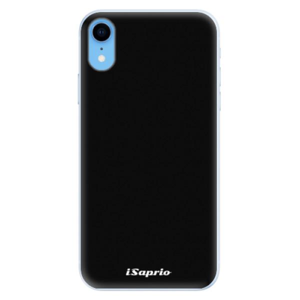 Silikonové pouzdro iSaprio - 4Pure - černý - iPhone XR
