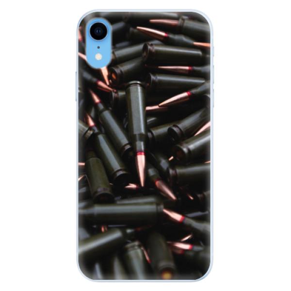 Silikonové pouzdro iSaprio - Black Bullet - iPhone XR