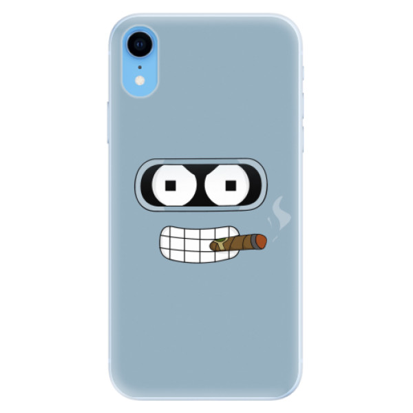Silikonové pouzdro iSaprio - Bender - iPhone XR