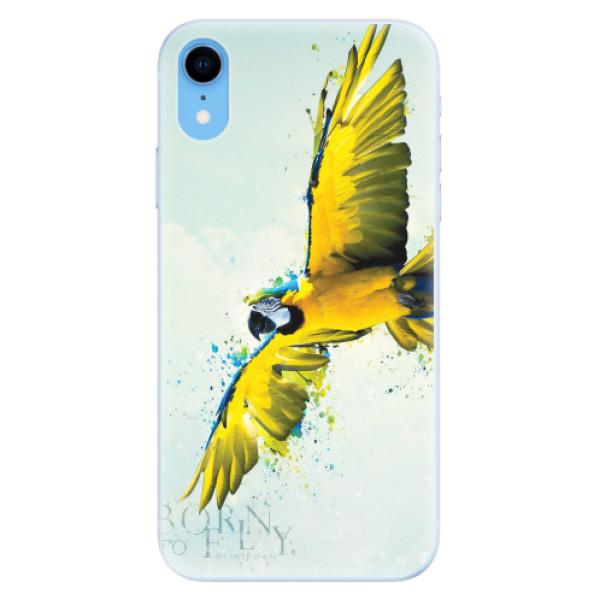 Silikonové pouzdro iSaprio - Born to Fly - iPhone XR