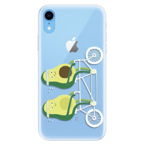 Silikonové pouzdro iSaprio - Avocado - iPhone XR