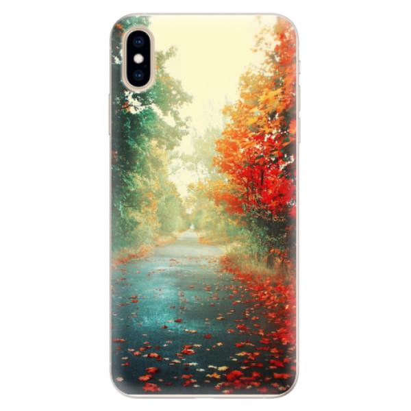 Silikonové pouzdro iSaprio - Autumn 03 - iPhone XS Max