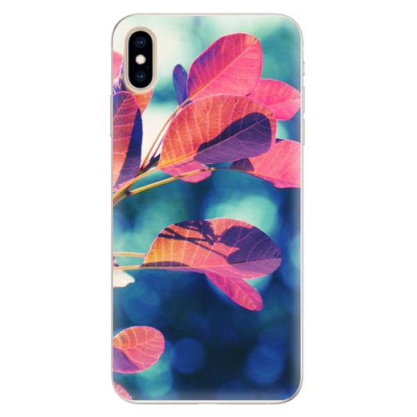 Silikonové pouzdro iSaprio - Autumn 01 - iPhone XS Max