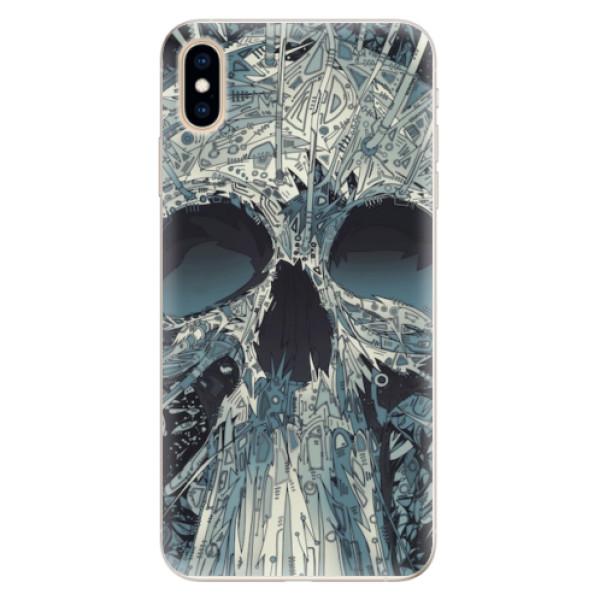 Silikonové pouzdro iSaprio - Abstract Skull - iPhone XS Max