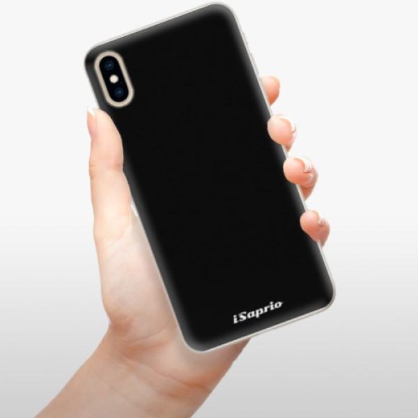 Silikonové pouzdro iSaprio - 4Pure - černý - iPhone XS Max