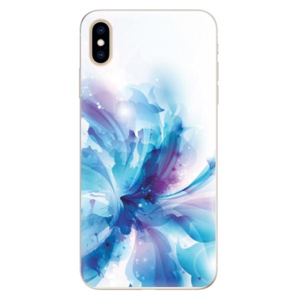 Silikonové pouzdro iSaprio - Abstract Flower - iPhone XS Max