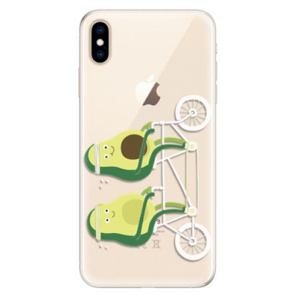 Silikonové pouzdro iSaprio - Avocado - iPhone XS Max