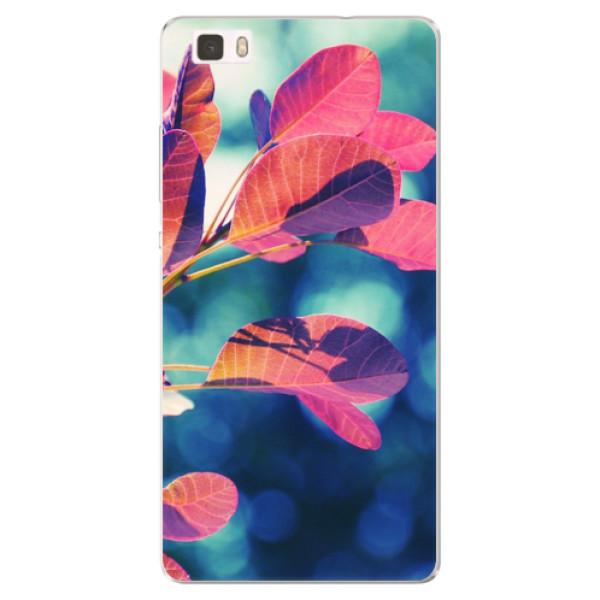 Silikonové pouzdro iSaprio - Autumn 01 - Huawei Ascend P8 Lite