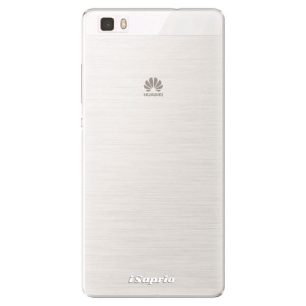 Silikonové pouzdro iSaprio - 4Pure - mléčný bez potisku - Huawei Ascend P8 Lite