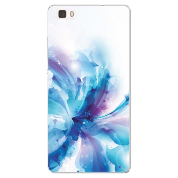 Silikonové pouzdro iSaprio - Abstract Flower - Huawei Ascend P8 Lite