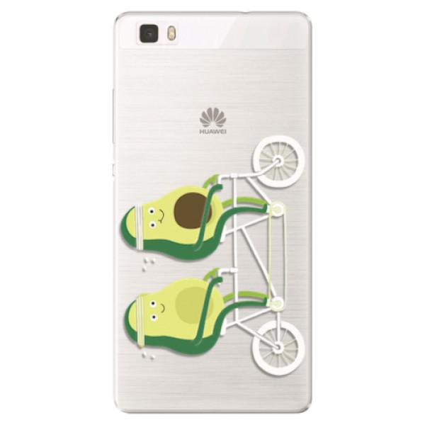 Silikonové pouzdro iSaprio - Avocado - Huawei Ascend P8 Lite