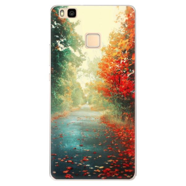 Silikonové pouzdro iSaprio - Autumn 03 - Huawei Ascend P9 Lite