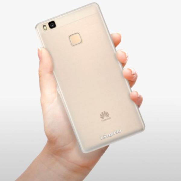 Silikonové pouzdro iSaprio - 4Pure - mléčný bez potisku - Huawei Ascend P9 Lite
