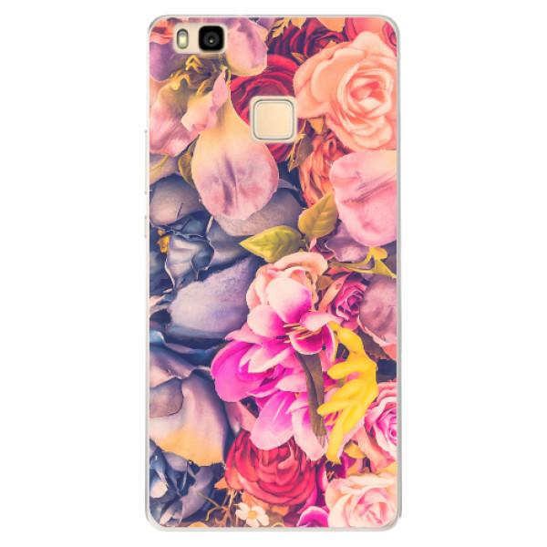 Silikonové pouzdro iSaprio - Beauty Flowers - Huawei Ascend P9 Lite