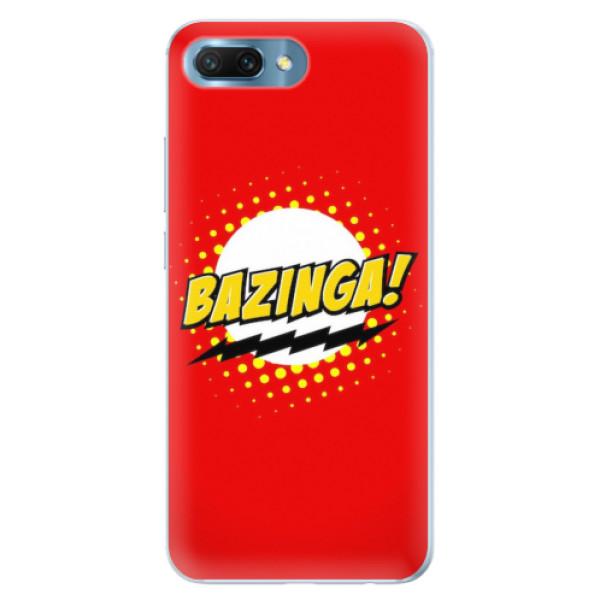 Silikonové pouzdro iSaprio - Bazinga 01 - Huawei Honor 10