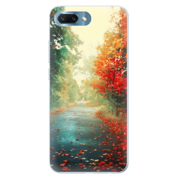 Silikonové pouzdro iSaprio - Autumn 03 - Huawei Honor 10