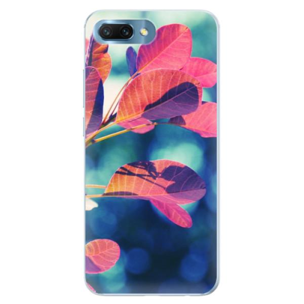 Silikonové pouzdro iSaprio - Autumn 01 - Huawei Honor 10