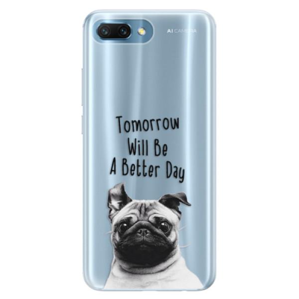 Silikonové pouzdro iSaprio - Better Day 01 - Huawei Honor 10