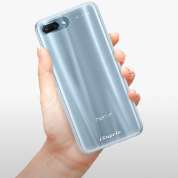 Silikonové pouzdro iSaprio - 4Pure - mléčný bez potisku - Huawei Honor 10