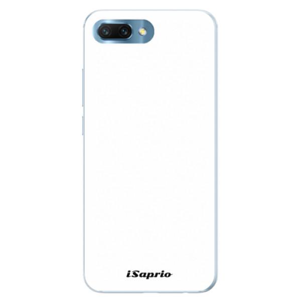 Silikonové pouzdro iSaprio - 4Pure - bílý - Huawei Honor 10