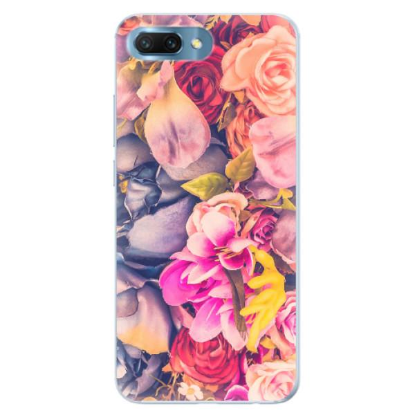 Silikonové pouzdro iSaprio - Beauty Flowers - Huawei Honor 10