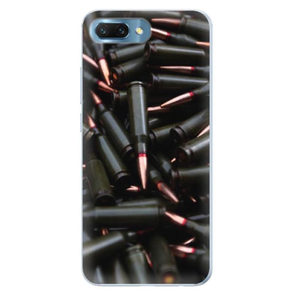 Silikonové pouzdro iSaprio - Black Bullet - Huawei Honor 10