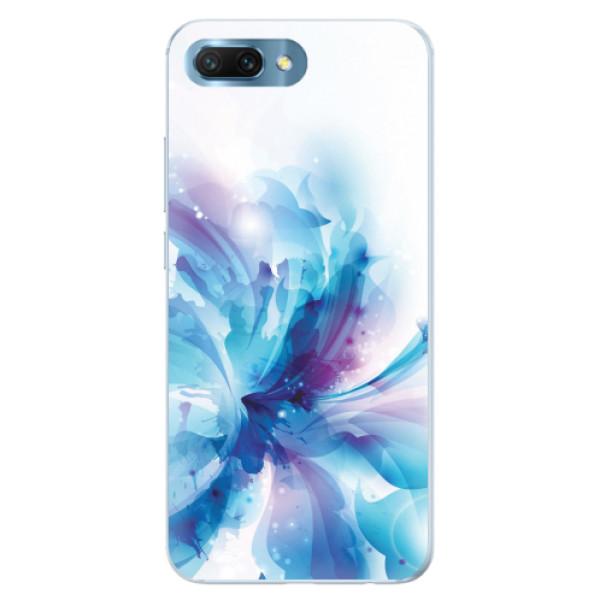 Silikonové pouzdro iSaprio - Abstract Flower - Huawei Honor 10