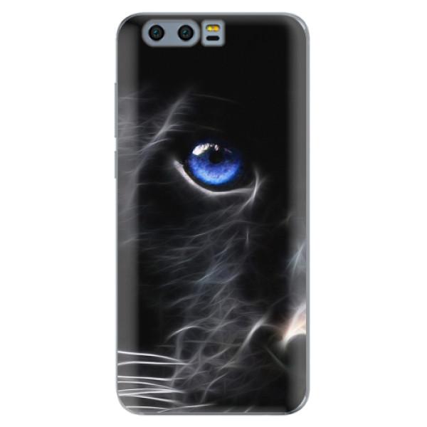 Silikonové pouzdro iSaprio - Black Puma - Huawei Honor 9