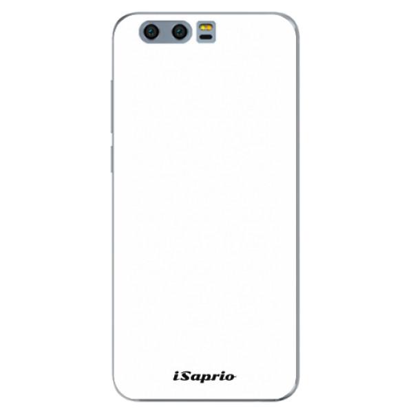 Silikonové pouzdro iSaprio - 4Pure - bílý - Huawei Honor 9