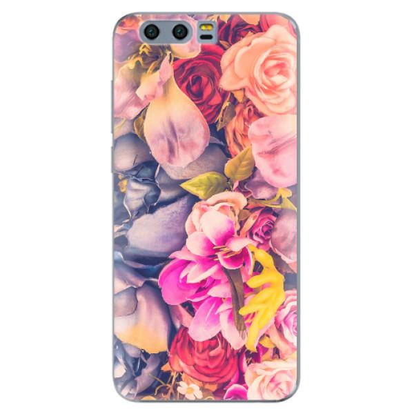Silikonové pouzdro iSaprio - Beauty Flowers - Huawei Honor 9