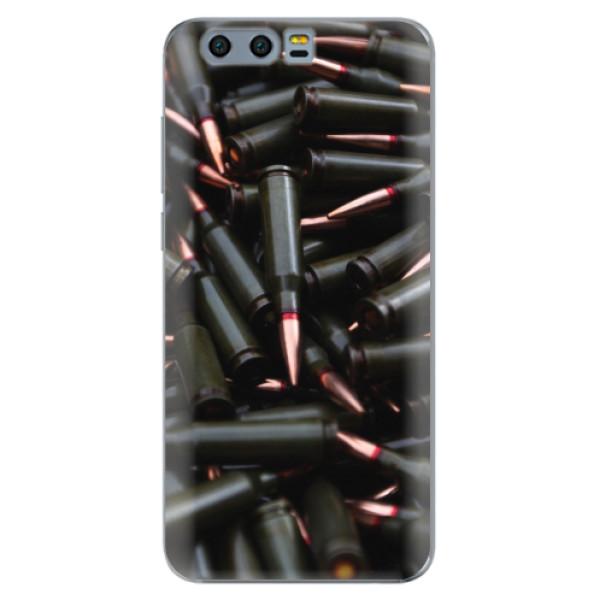 Silikonové pouzdro iSaprio - Black Bullet - Huawei Honor 9