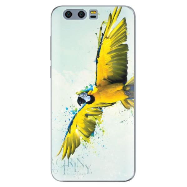 Silikonové pouzdro iSaprio - Born to Fly - Huawei Honor 9