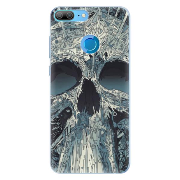 Silikonové pouzdro iSaprio - Abstract Skull - Huawei Honor 9 Lite