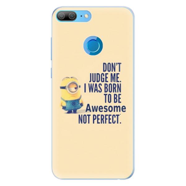 Silikonové pouzdro iSaprio - Be Awesome - Huawei Honor 9 Lite