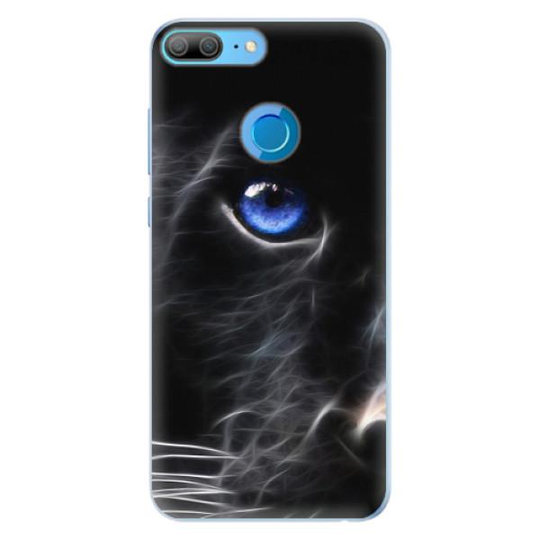 Silikonové pouzdro iSaprio - Black Puma - Huawei Honor 9 Lite