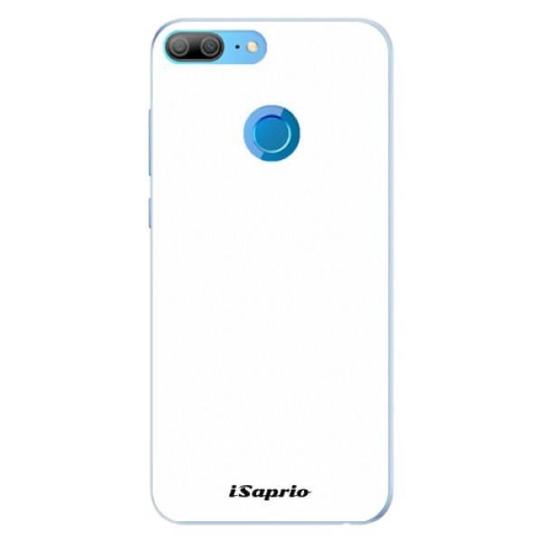 Silikonové pouzdro iSaprio - 4Pure - bílý - Huawei Honor 9 Lite