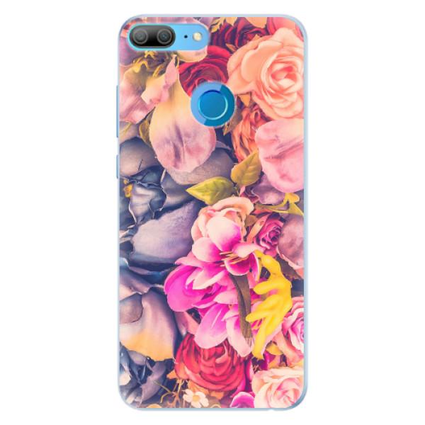 Silikonové pouzdro iSaprio - Beauty Flowers - Huawei Honor 9 Lite