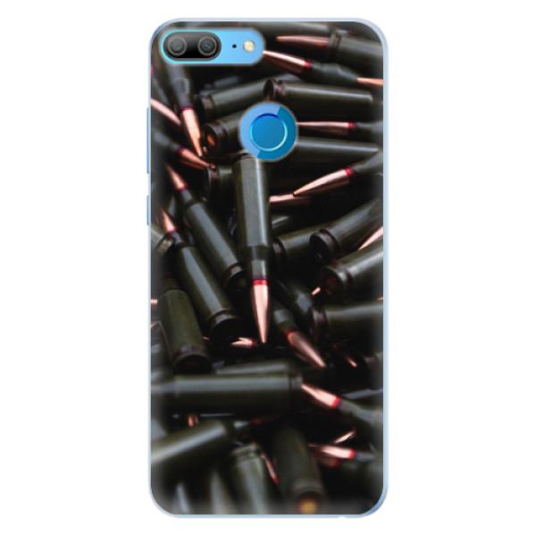 Silikonové pouzdro iSaprio - Black Bullet - Huawei Honor 9 Lite