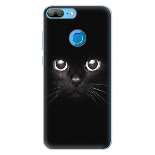 Silikonové pouzdro iSaprio - Black Cat - Huawei Honor 9 Lite