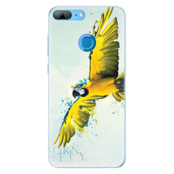 Silikonové pouzdro iSaprio - Born to Fly - Huawei Honor 9 Lite