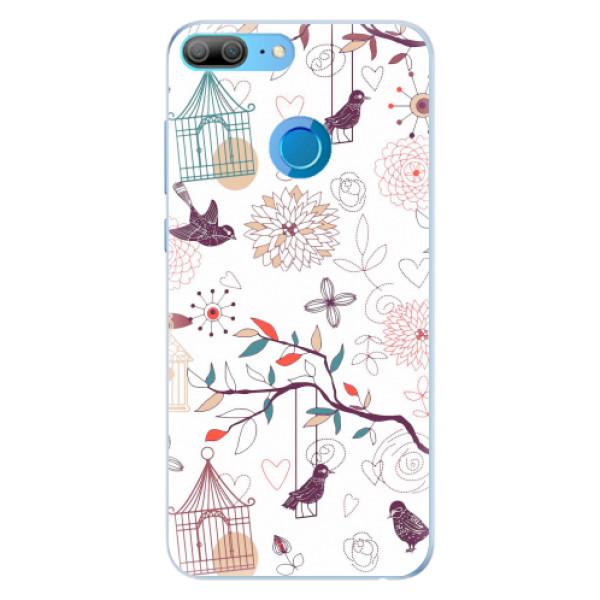 Silikonové pouzdro iSaprio - Birds - Huawei Honor 9 Lite
